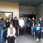 Alumnado de Telecos en Etxegoki-Fekoor