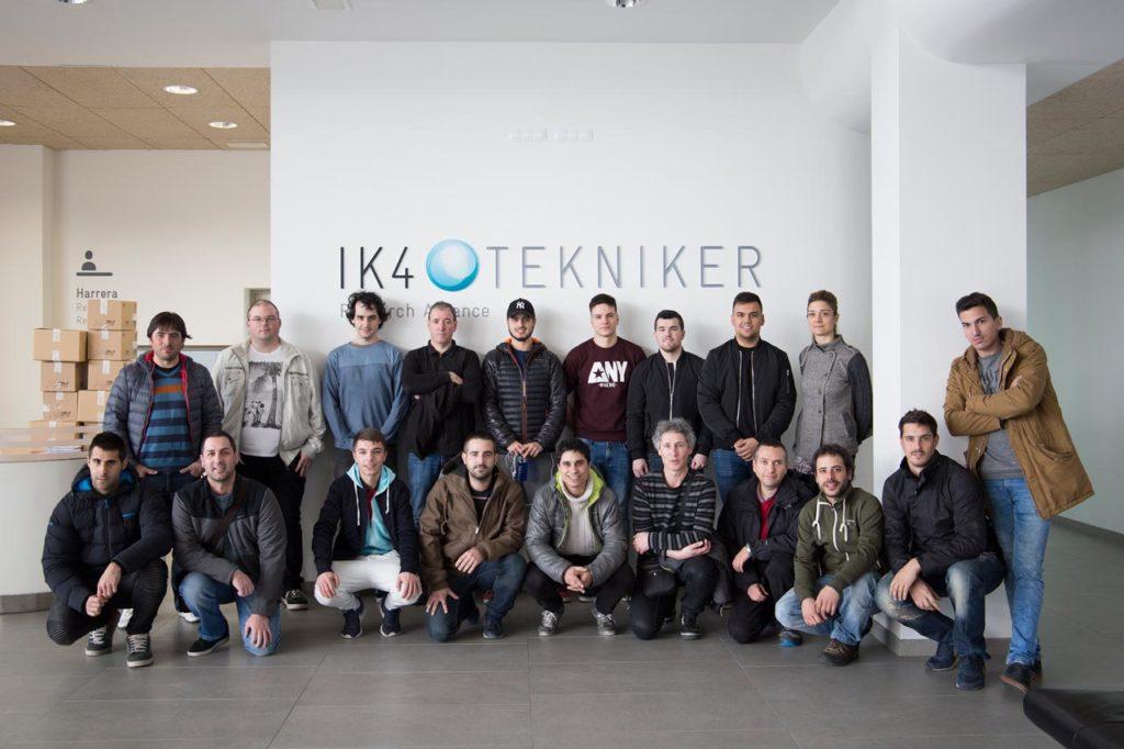 FPAndraMari: Visita al centro Tecnológico IK4-Tekniker